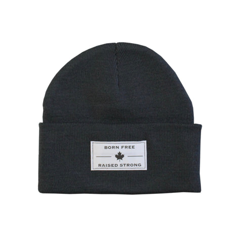 The BFRS Beanie, Charcoal
