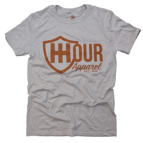 The Branded Tee - Grey