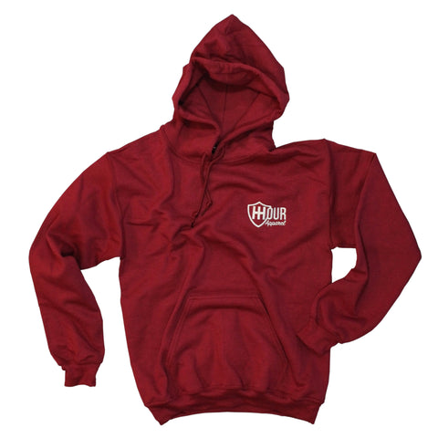 The Bonfire Hoodie - Heritage Red