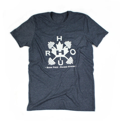 The Barbell Tee - Athletic Navy