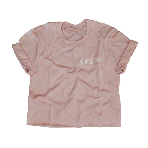 To And Fro Tee - Peach Pink