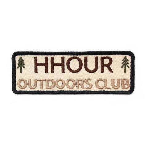 H-Hour Outdoors Club Patch