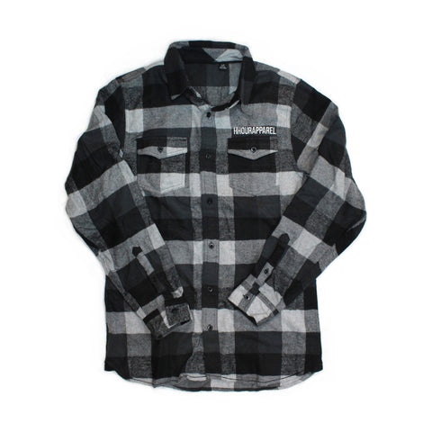 Chester Roader Flannel - Peppercorn