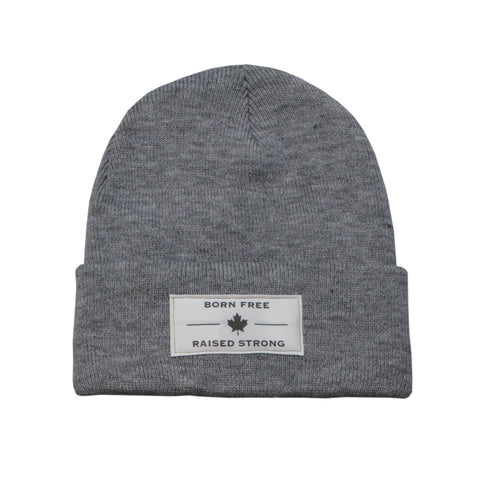 The BFRS Beanie, Salt & Pepper