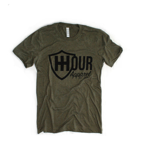 The Branded Tee - Olive