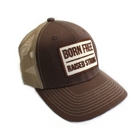 Retro Vented Trucker Brown