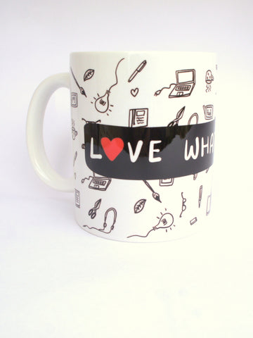 Love What You Do (White) Mug