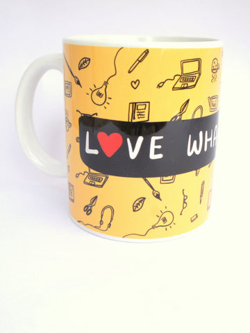 Love What You Do (Yellow) Mug