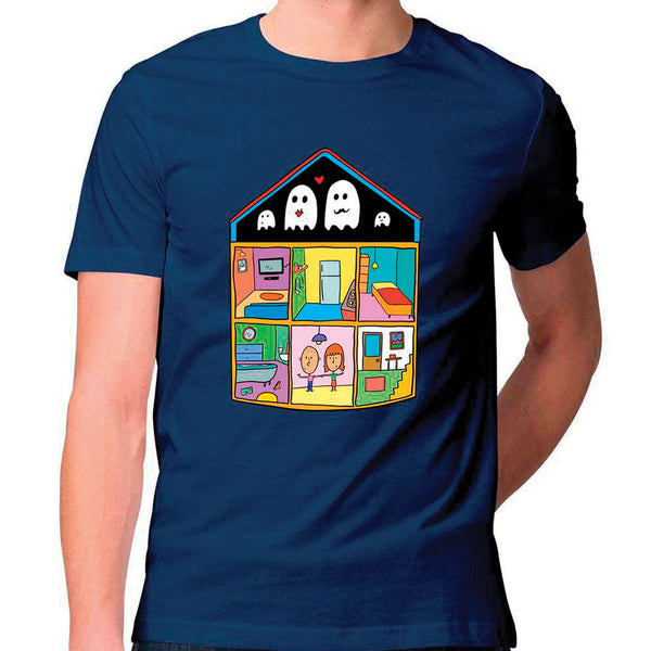 Ghost House Unisex T Shirt
