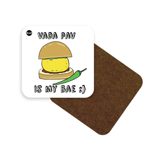 Street Food is my Bae Coaster Set - Set of 4 (With Holder)