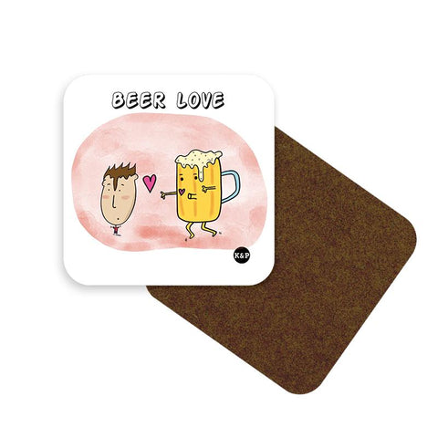 Love of Food Coaster Set - set of 6