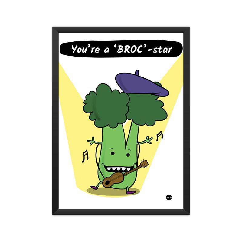 Framed Print - Broccoli
