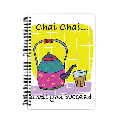 The Chai Try Hardback Notebook
