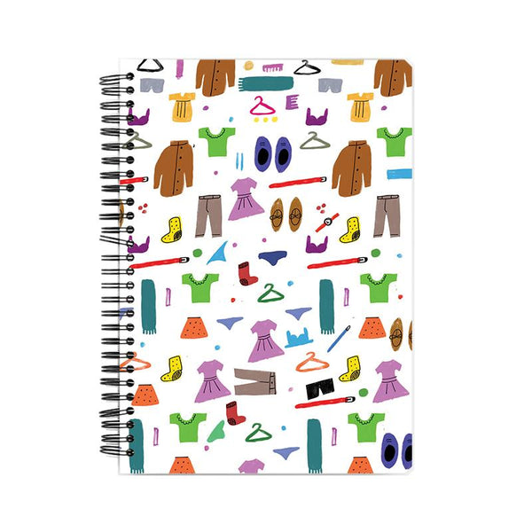 The Messy Wardrobe Notebook