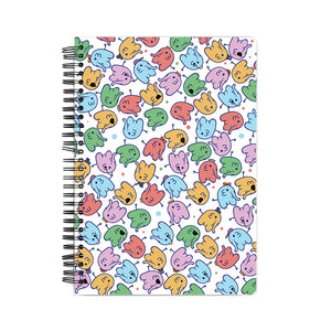 The Elephants Hardback Notebook