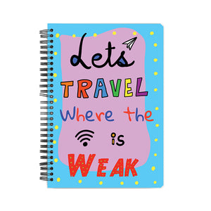 The 'Let's get Lost' Notebook