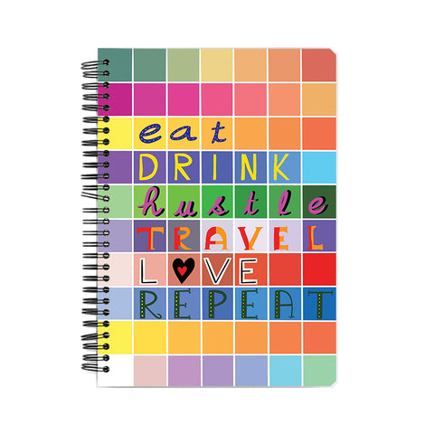 Eat Drink LOVE Notebook