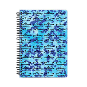 The Paper Boat Hardback Notebook
