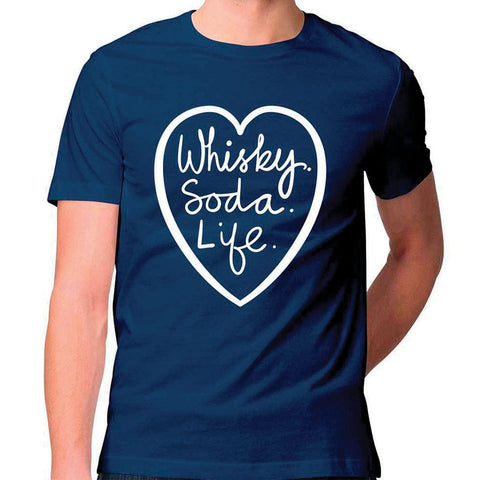 Whisky.Soda.Life Unisex T Shirt