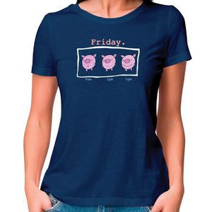Friyay Women Fitted T Shirt