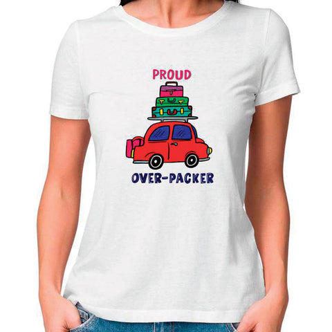 Proud Overpacker Women Fitted T Shirt