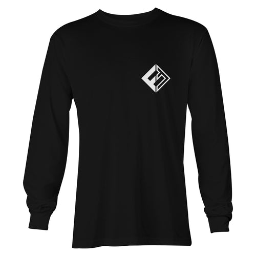Funkshen Hardware Long Sleeve T-Shirt - Black - Funkshen Bodyboards