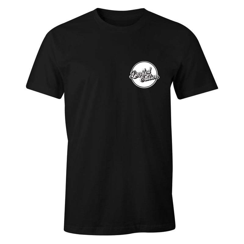 Limited Edition 'Beer Coaster' T-Shirt - Black - Funkshen Bodyboards