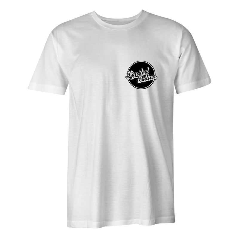 Limited Edition 'Beer Coaster' T-Shirt - White - Funkshen Bodyboards