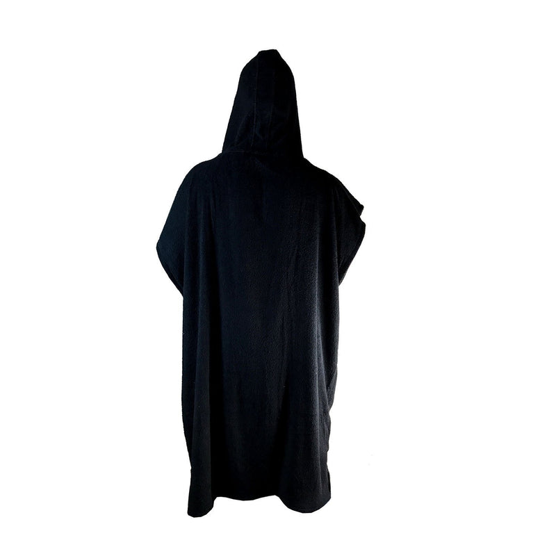 Limited Edition Poncho Towel - Black and White - Funkshen Bodyboards