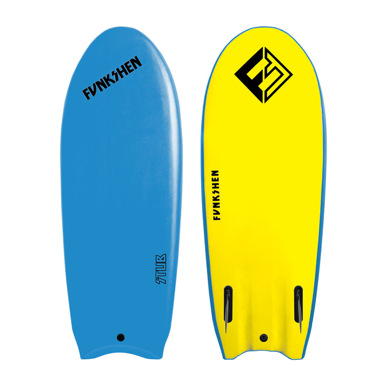 STUB - STAND UP BOOGIE (Blue) - Funkshen Bodyboards
