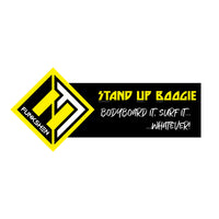 STUB - STAND UP BOOGIE (Black) - Funkshen Bodyboards