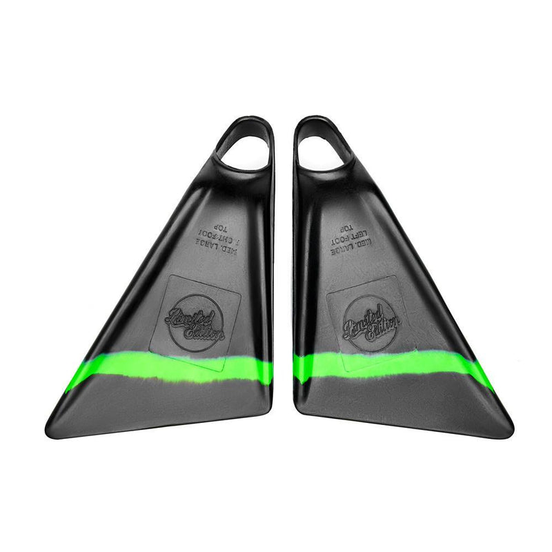 Limited Edition Sylock - Lime Stripe - Funkshen Bodyboards