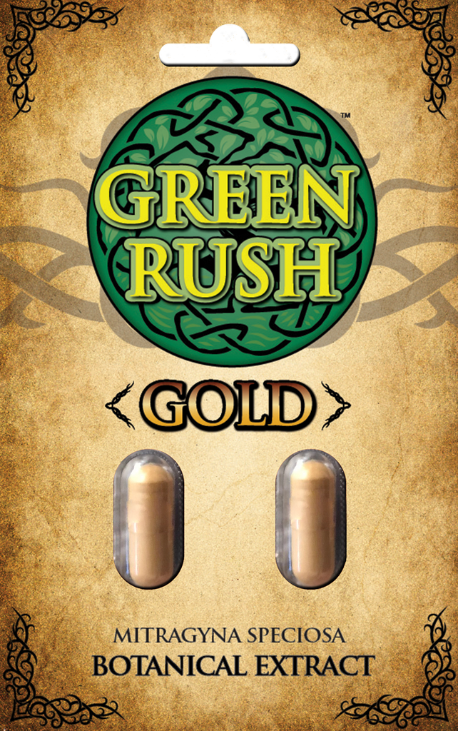 Green Rush Gold Extra Strength Botanical Extract (Capsules)