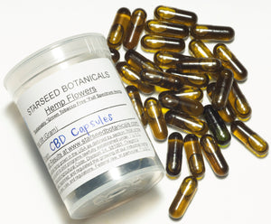 Full-Spectrum  CBD Hemp Oil Capsules