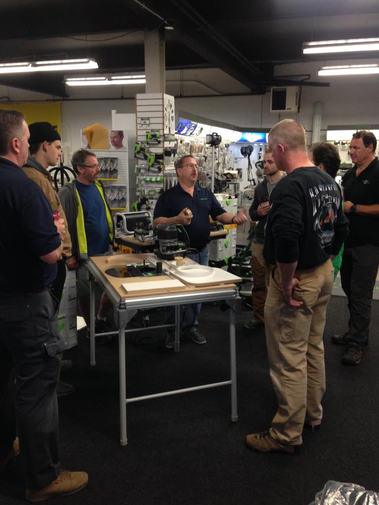 Festool End User Training Sessions - Conturo / Planex