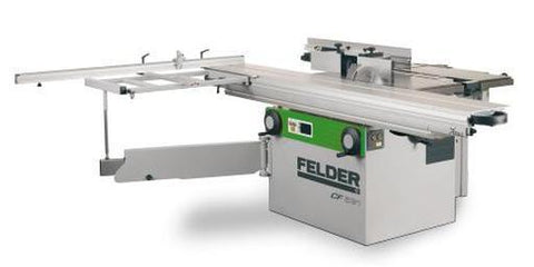 Felder CF531: Sliding Table Saw/Shaper/Planer/Jointer/Slot Mortiser Combination