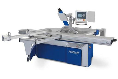Format-4 Kappa 400: Sliding Table Saw with Multiple Axis Control