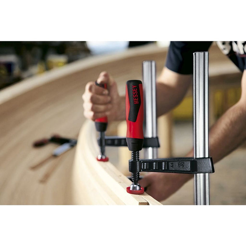 Bessey 1000 Pound TG-Series F-Clamps clamping a lamination