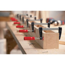Bessey 330 Pound Lightweight F-Clamps holding together box for screwing