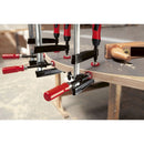 Bessey Single Spindle Edge Clamp for Use with Bar Clamp on bar clamp holding edge banding