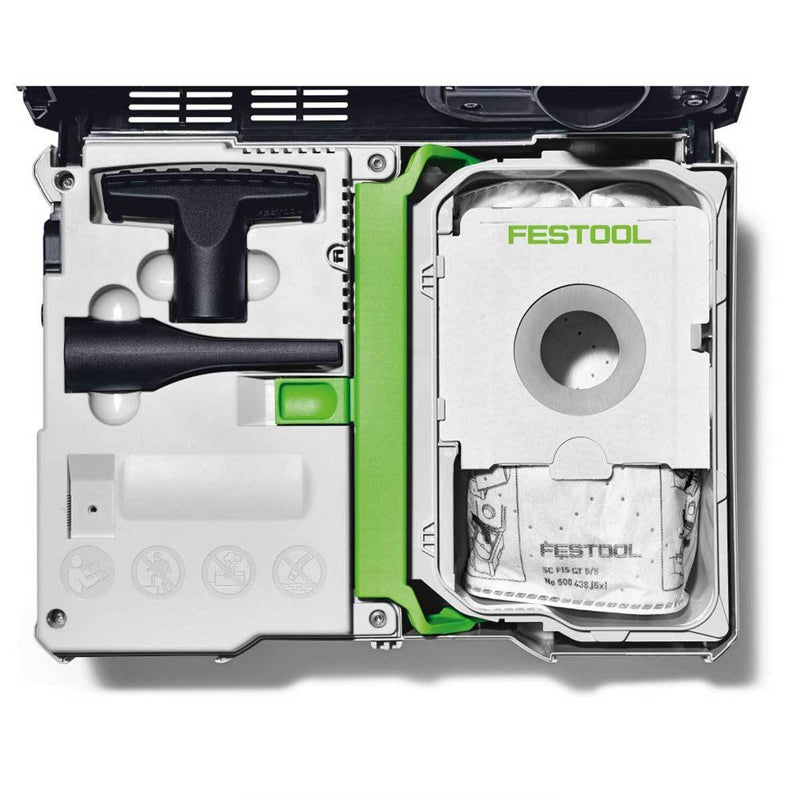 Festool CT SYS - Compact Systainer Dust Extractor - Ultimate Tools