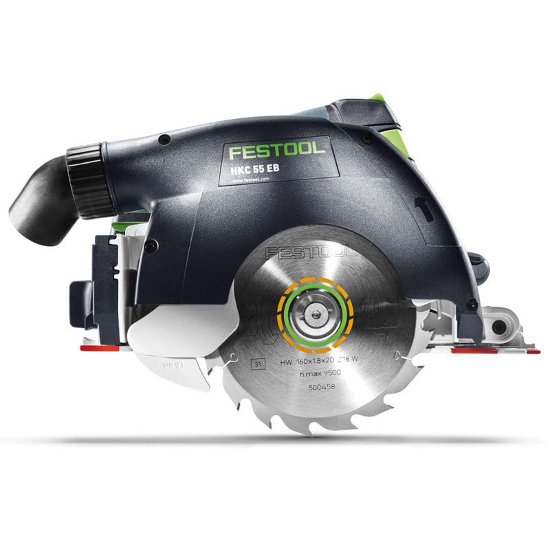 Cordless HKC 55 Carpentry Tracksaws with Airstream Batteries (2019) - Ultimate Tools
