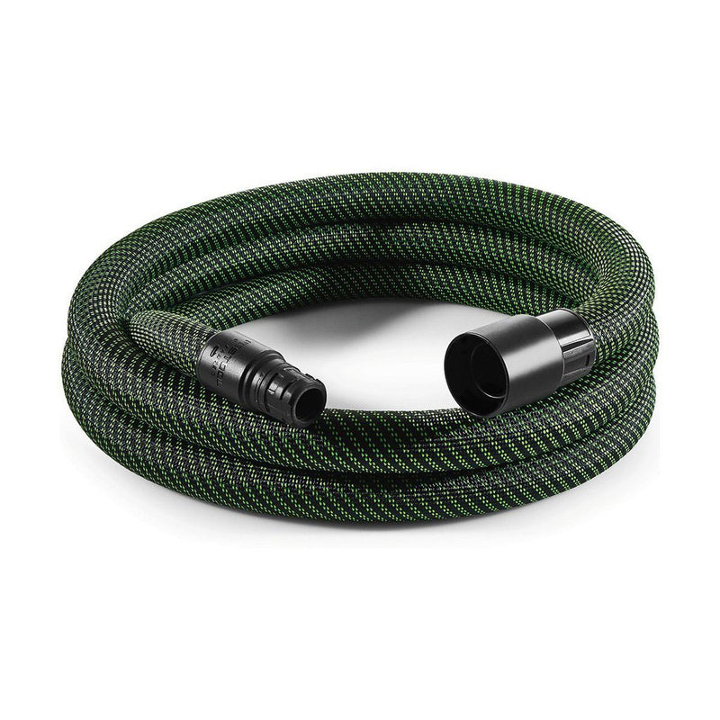 This premium dust extraction hose is durable and flexible with a smooth outside to prevent it from catching. D27mm tool end.