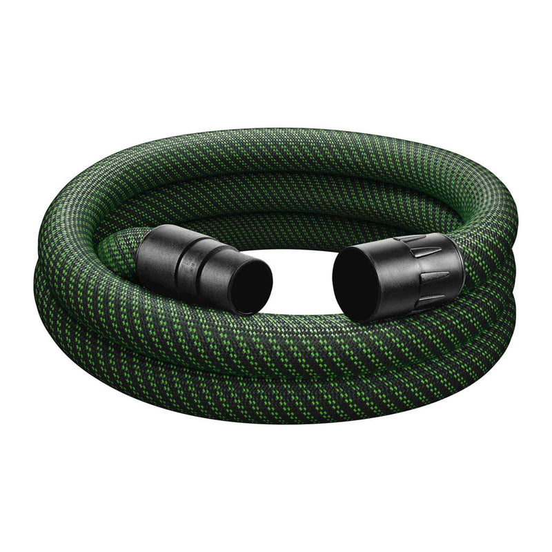 This premium D36mm dust extraction hose is durable and flexible with a smooth outside to prevent it from catching.