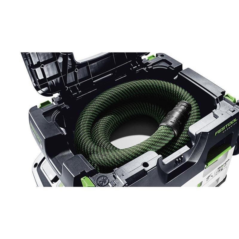 Under the top of the Sys-Dock is storage for the D27mm x 3.5m hose.