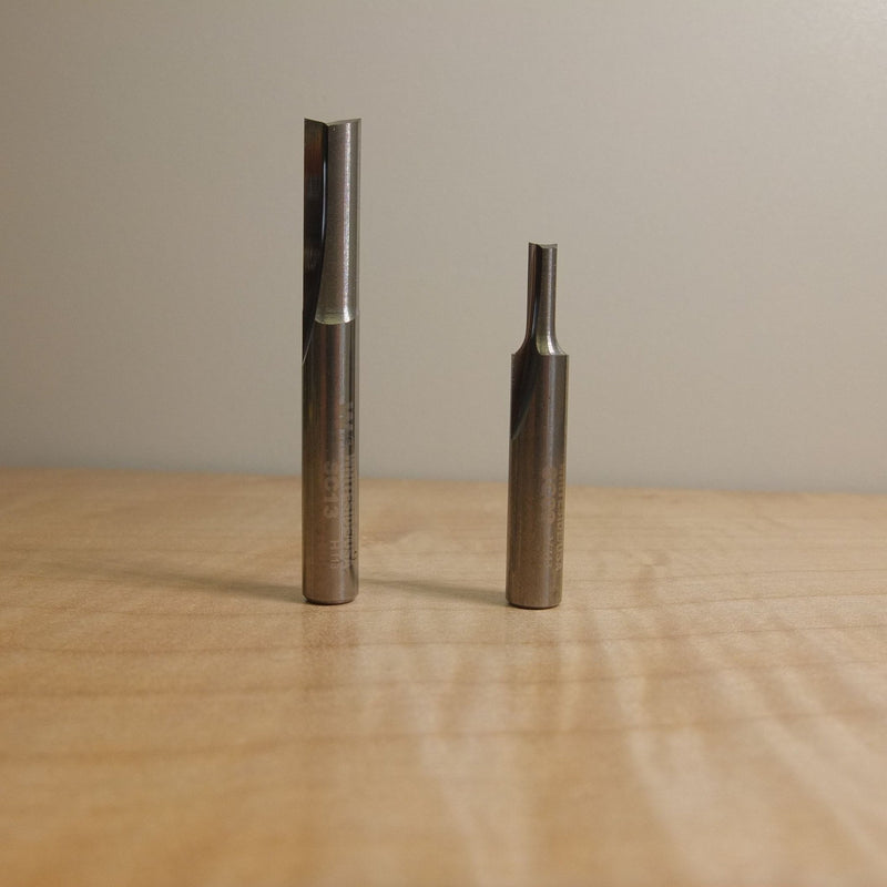 "Whiteside Whiteside Solid Carbide Straight Cut Router Bits - 1/4"" Shank.,  - Ultimate Tools - 3"