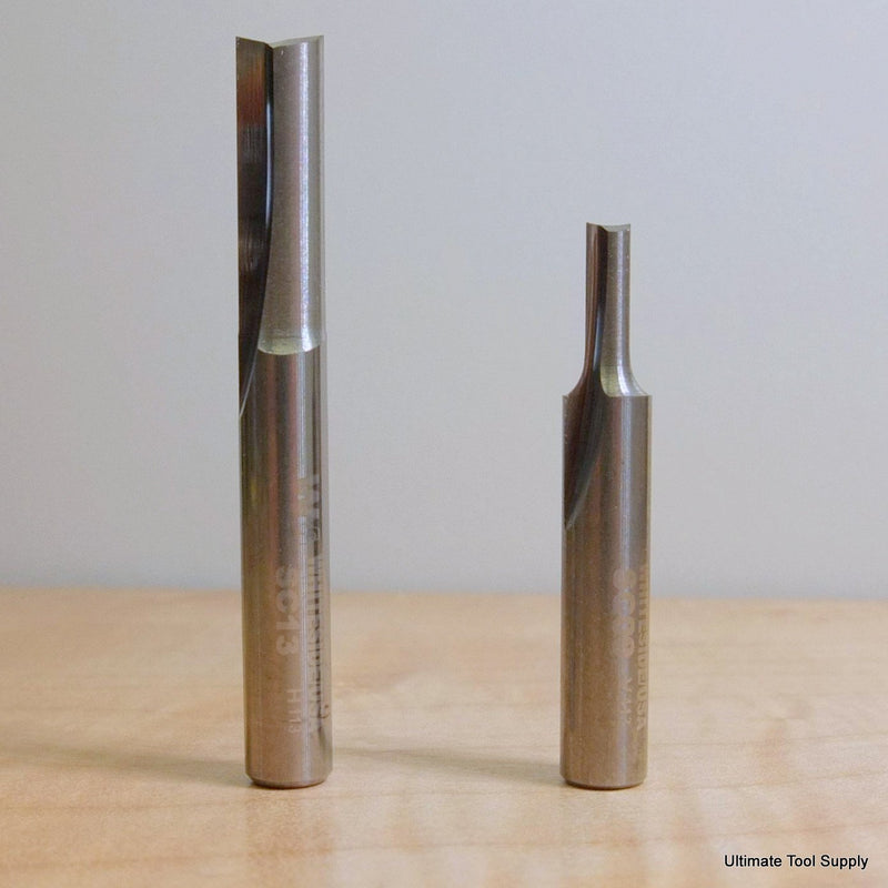 "Whiteside Whiteside Solid Carbide Straight Cut Router Bits - 1/4"" Shank.,  - Ultimate Tools - 1"