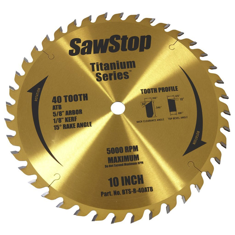 SawStop Table Saw Blades - Ultimate Tools