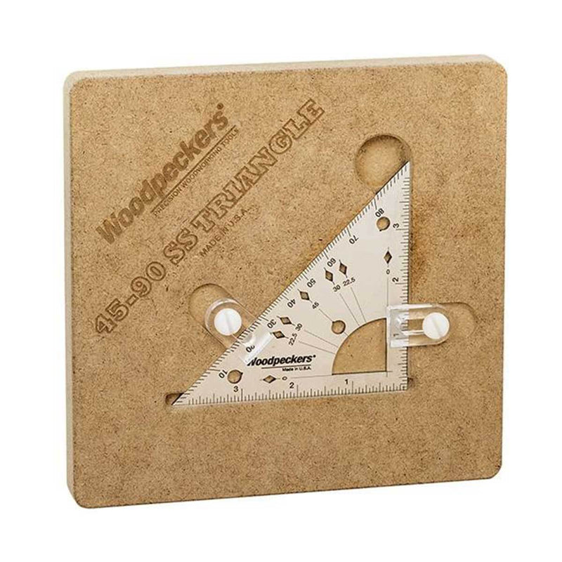 Ultimate Tools Woodpeckers 45-90 SS Triangle - OneTIME Tools -Retired