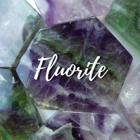 Rainbow Fluorite Collection from Simply Affinity